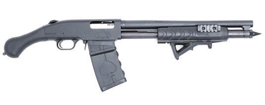 Black Aces Tactical shotgun with a twist