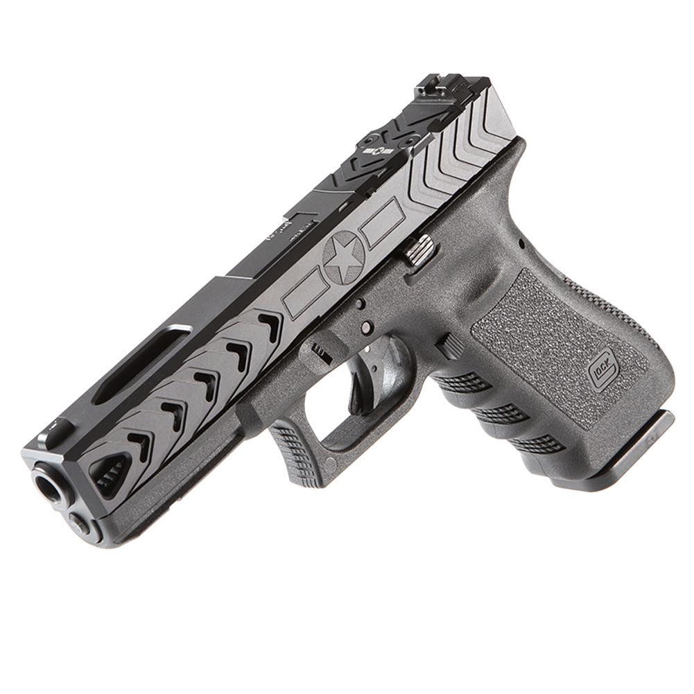 12 Of The Best Custom Glocks In World Usa Gun Shop Glock Pistol Parts Diagram Color Coded Showing Frame Pins Springs Patriot Ordnance Factory 19 Slide For Sale